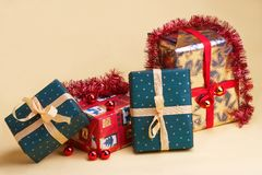 Weihnachtsgeschenke - Christmas presents Stock Photo