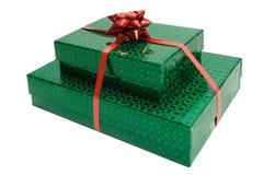 Weihnachtsgeschenke getrennt Lizenzfreie Stockfotografie