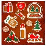 Weihnachtsgeschenke von den Rotwild Lizenzfreies Stockbild