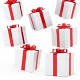 Weihnachtsgeschenkkästen Lizenzfreie Stockfotografie