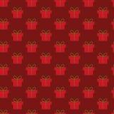 Weihnachtsgeschenkmuster Lizenzfreies Stockbild