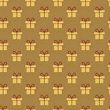 Weihnachtsgeschenkmuster Lizenzfreie Stockfotografie