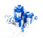 Weihnachtsgeschenkset lizenzfreies stockfoto