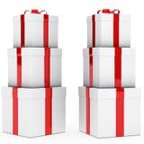 Weihnachtsgeschenkstapel Lizenzfreies Stockbild