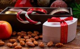 Weihnachtsgeschenkzusätze lizenzfreie stockfotografie