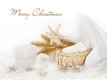 Weihnachtsgeschichte Lizenzfreies Stockfoto