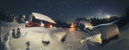 Weihnachtsgeschichte für Bergsteiger lizenzfreies stockfoto