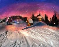 Weihnachtsgeschichte für Bergsteiger, 2014 Lizenzfreies Stockfoto