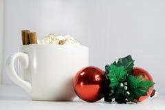 Weihnachtsgetränk Stockfotografie