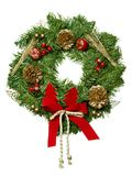 Weihnachtsgirlande. Lizenzfreies Stockfoto