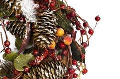 Weihnachtsgirlande Stockbild