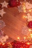 Weihnachtsgirlandenlichter Lizenzfreie Stockbilder