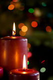 Weihnachtsglühen Stockbilder