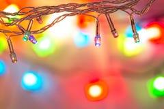 Weihnachtsglühlampen Lizenzfreies Stockbild