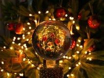 Weihnachtsglaskugel Lizenzfreie Stockfotos