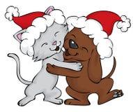 Weihnachtsglück Lizenzfreies Stockfoto