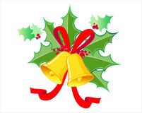 Weihnachtsglocke Stockfoto