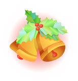 Weihnachtsglocken vektor abbildung