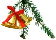 Weihnachtsglocken Stockbild