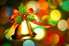Weihnachtsglockendekoration Lizenzfreies Stockbild