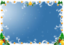 Weihnachtsgrüße Stockfoto