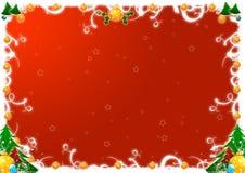 Weihnachtsgrüße Stockfotografie