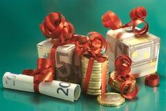Weihnachtsgratifikation Lizenzfreies Stockfoto