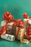 Weihnachtsgratifikation Stockfotografie