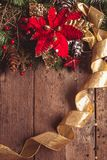 Weihnachtsgrenzdesign Lizenzfreie Stockbilder