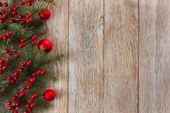 Weihnachtsgrenze Lizenzfreies Stockbild