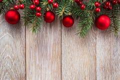 Weihnachtsgrenze stockbild