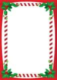 Weihnachtsgrenze Stockfoto