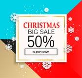 Weihnachtsgroßer Verkauf lizenzfreie abbildung