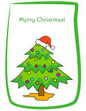Weihnachtsgruß Stockfotos