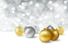 Weihnachtsgruß-Karte Lizenzfreie Stockfotos