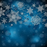Weihnachtsgruß-Karte mit Raum für Kopie - Illustration Lizenzfreie Stockfotos