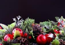 Weihnachtsgruß-Karten Lizenzfreies Stockfoto
