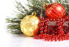 Weihnachtsgrußkarte Lizenzfreies Stockfoto