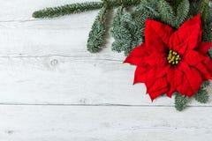 Weihnachtsgrußkartenhintergrund Stockbild