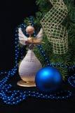 Weihnachtshölzerner Engel Lizenzfreie Stockfotografie