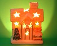 Weihnachtshalle Lizenzfreies Stockbild