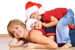 Weihnachtshaufen Lizenzfreie Stockfotos