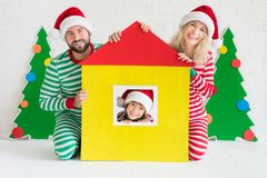 Weihnachtshauptfeiertags-Konzept des Entwurfes Stockbilder