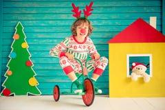 Weihnachtshauptfeiertags-Konzept des Entwurfes Lizenzfreie Stockfotos