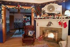 Weihnachtshauptinnenraum, HDR Lizenzfreie Stockfotos