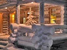Weihnachtshaus Lizenzfreies Stockbild