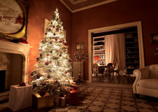 Weihnachtshaus Lizenzfreie Stockbilder