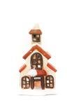 Weihnachtshaus-Verzierung Stockfotografie