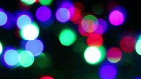 Weihnachtsheller Blinker stock footage