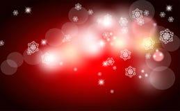 Weihnachtsheller Hintergrund, Vektor Lizenzfreies Stockfoto